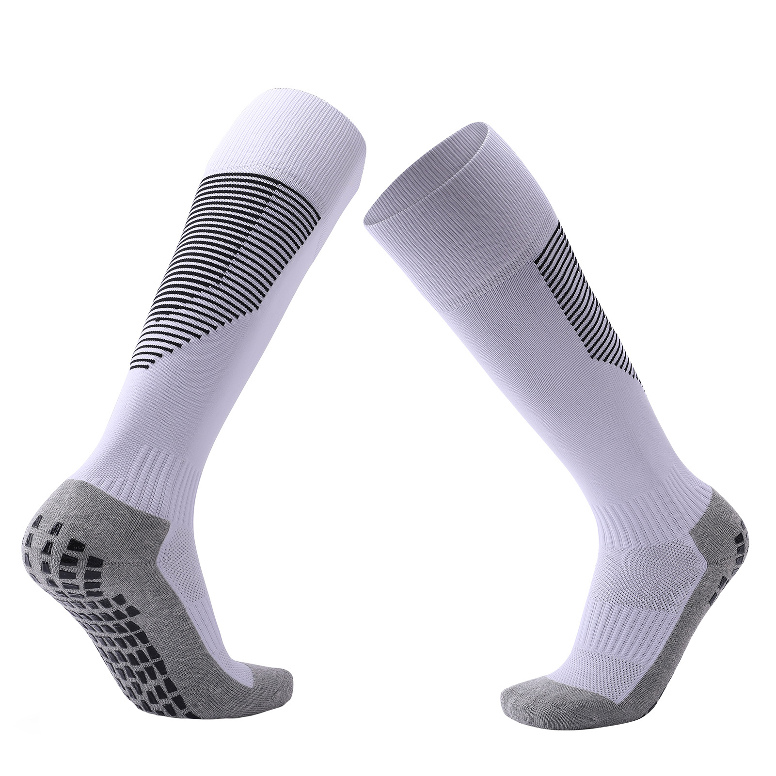 Men Football Socks Top Quality Polyester Soccer Sports Durable Long Cycling