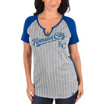 "Kansas City Royals  Adult ""From the Stretch"" Short Sleeve Shirt"