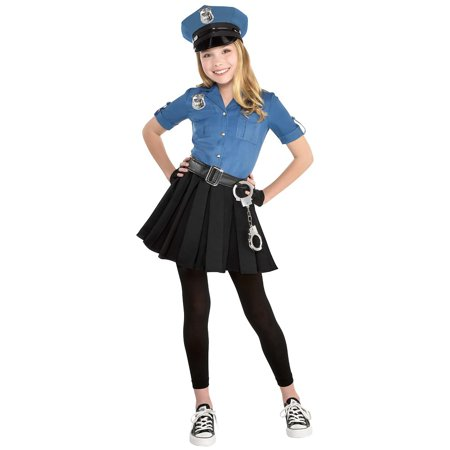 Cop Cutie Child Costume - Large