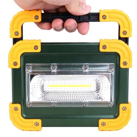30W COB LED Work Light Rechargeable Handle Flashlight Torch Camping Lamp 3