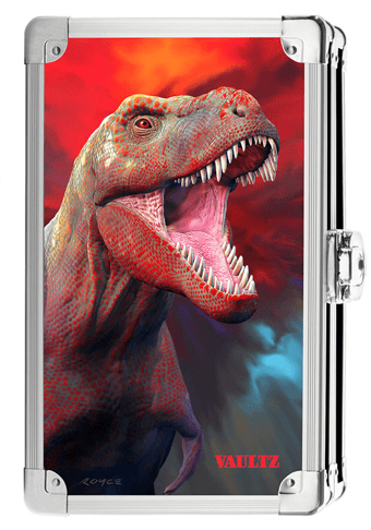 Vaultz Dinosaur Locking Supply Box