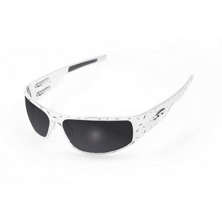 ICICLES Big Daddy Bagger Smoke Lens Sunglasses with Chrome Diamond (Big Daddy Kid Sunglasses)