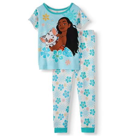 Moana Cotton tight fit pajamas, 2pc set (toddler girls)