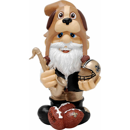 Forever Collectibles NFL Thematic Gnome Version 2, New Orleans Saints