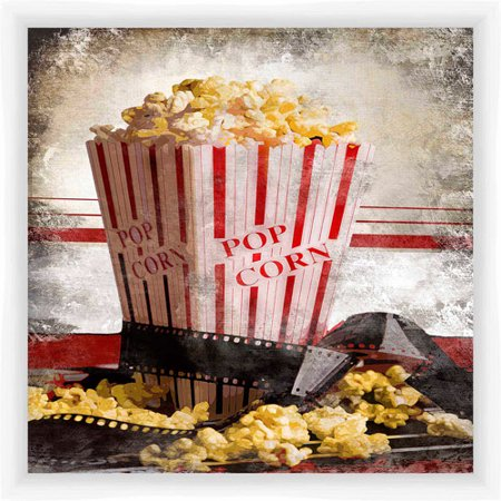 Popcorn Entertainment Wall Art - Walmart.com