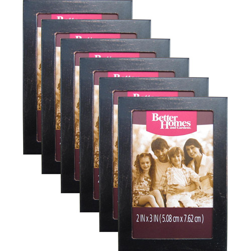 Better Homes and Gardens Mini Bronze Hanging Frames, Oil-Rubbed Bronze, 6-Pack
