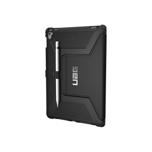 UAG Rugged Case for iPad Pro 9.7-inch - Metropolis Black - Flip cover for tablet - rugged - black - for Apple 9.7-inch iPad Pro