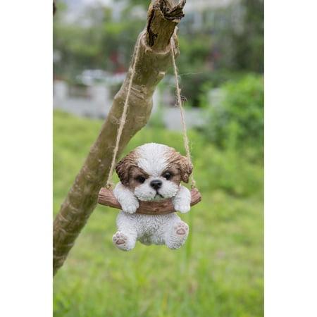 Hi Line Gift Ltd Hanging Shih Tzu Puppy Statue Walmartcom
