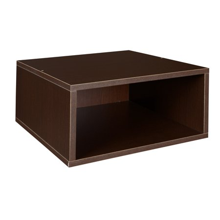 - Niche Cubo Half Size Stackable Storage Cube- Truffle