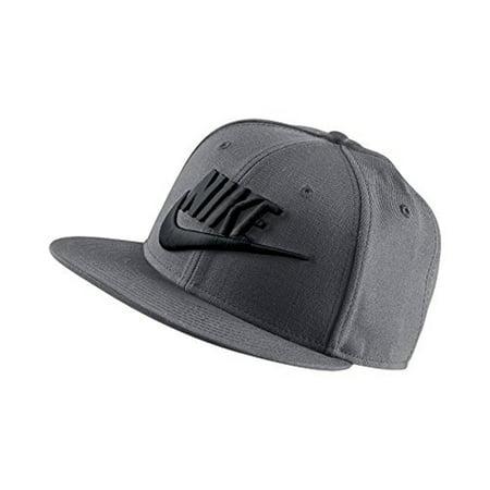 Nike - Nike Futura True 2 Men s Adjustable Snapback Hat Dark Grey Black  584169-027 - Walmart.com fdde5aad2cf