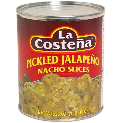 La Costena Pickled Jalapeno Nacho Slices, 26 oz (Pack of 12)