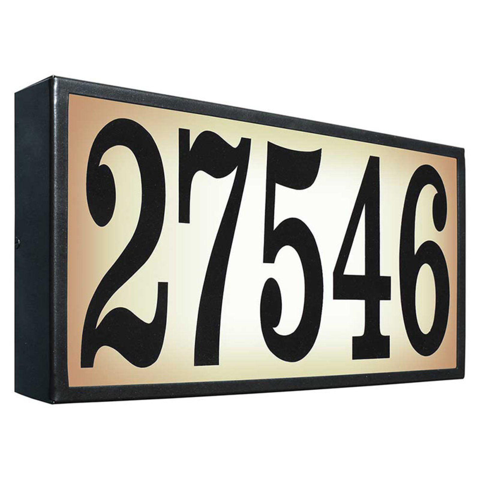 QualArc Extra-Large Lighted Address Plaque