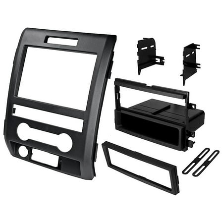 Dash Unit Car Kit Installation Stereo Install Kit For 09-12 Ford F150 1-2 Din (Car Head Unit Installation Kit)