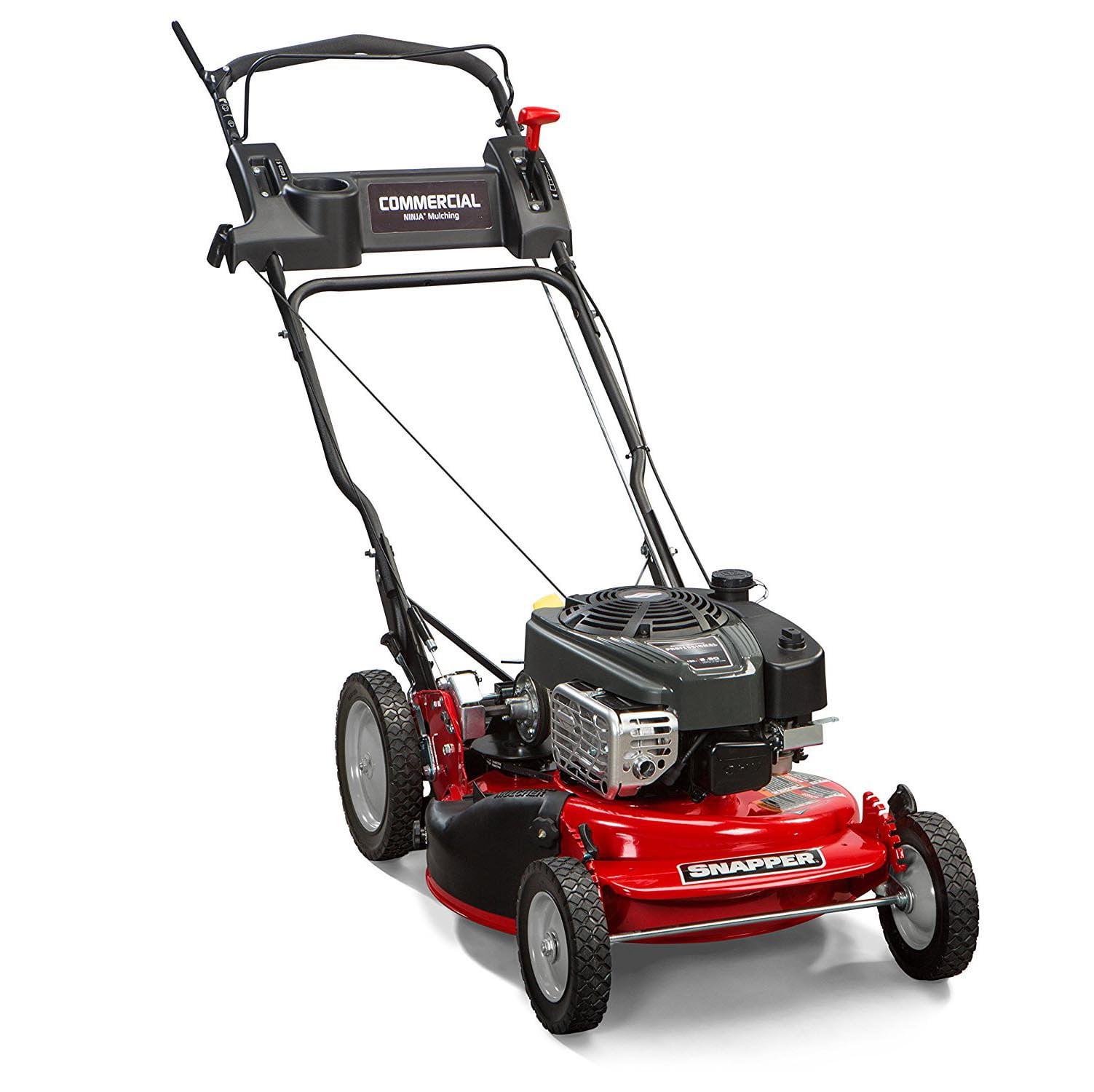 "Snapper 7800968 Commercial Series HI VAC 21"" Self Propelled Mulching Lawn Mower"