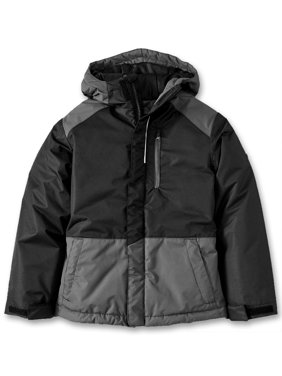 Iceburg Baby Toddler Boy Winter Coat with Reflective Piping