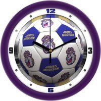 James Madison Dukes Soccer Wall Clock