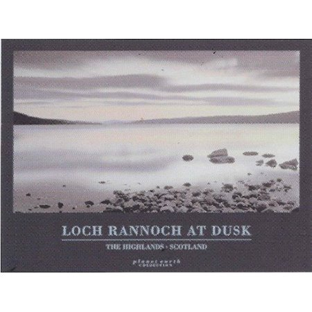 Loch Rannoch at Dusk photograph by David Noton 16x20 Art Print Poster The Highlands Scotland View From Loch Rannoch Planet Earth Series