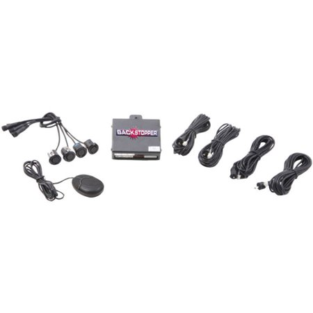 Crimestopper Ca 5017 Matt 2 Front Parking Assist With Audible Alert And Matte Sensors