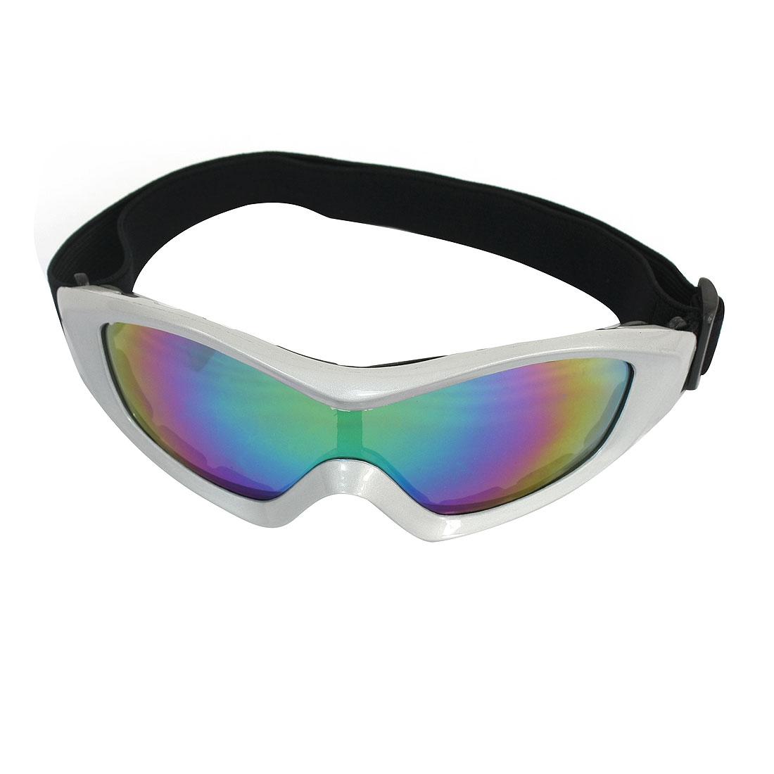 Motorcycle Bike Racing Full Rim Eyewear Protecting Glasses Ski Goggles by