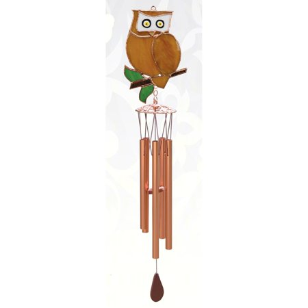 Owl Wind Chimes (Gift Essentials 20 in. Owl Wind)