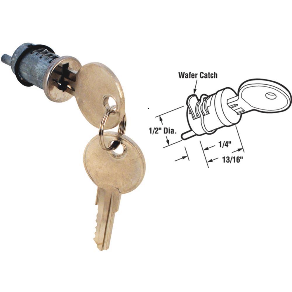 Prime Line Products 141388 Sliding Patio Door Cylinder Key Lock