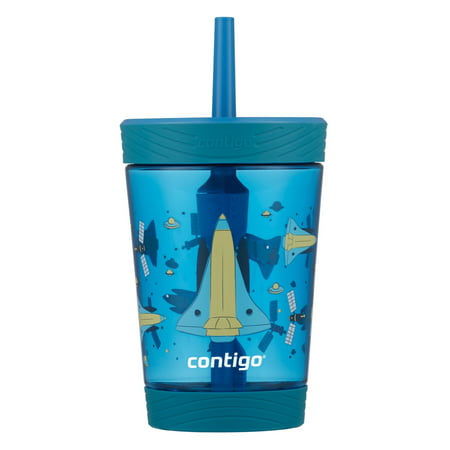Contigo Spill-Proof Kids Tumbler with Straw, 14 oz., Gummy & Spaceship