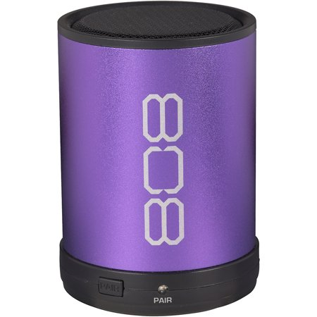 808 CANZ Bluetooth Wireless Speaker, Purple