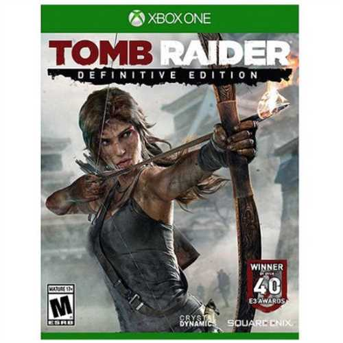 Tomb Raider Definitive Ed (Xbox One) - Pre-Owned (Land Rover Tomb Raider 110 For Sale)