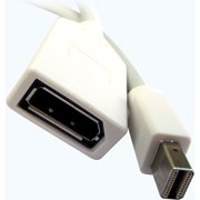 Professional Cable 6' Mini DisplayPort Male to DisplayPort Female Cable