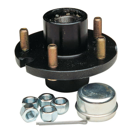 - Dexter 81055 Pre-Assembled & Greased 4-Bolt 1,350 lb Capacity Replacement Wheel Hub Kit with 1-1/16