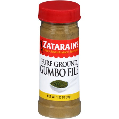 (2 Pack) Zatarain's Gumbo File, 1.25 oz