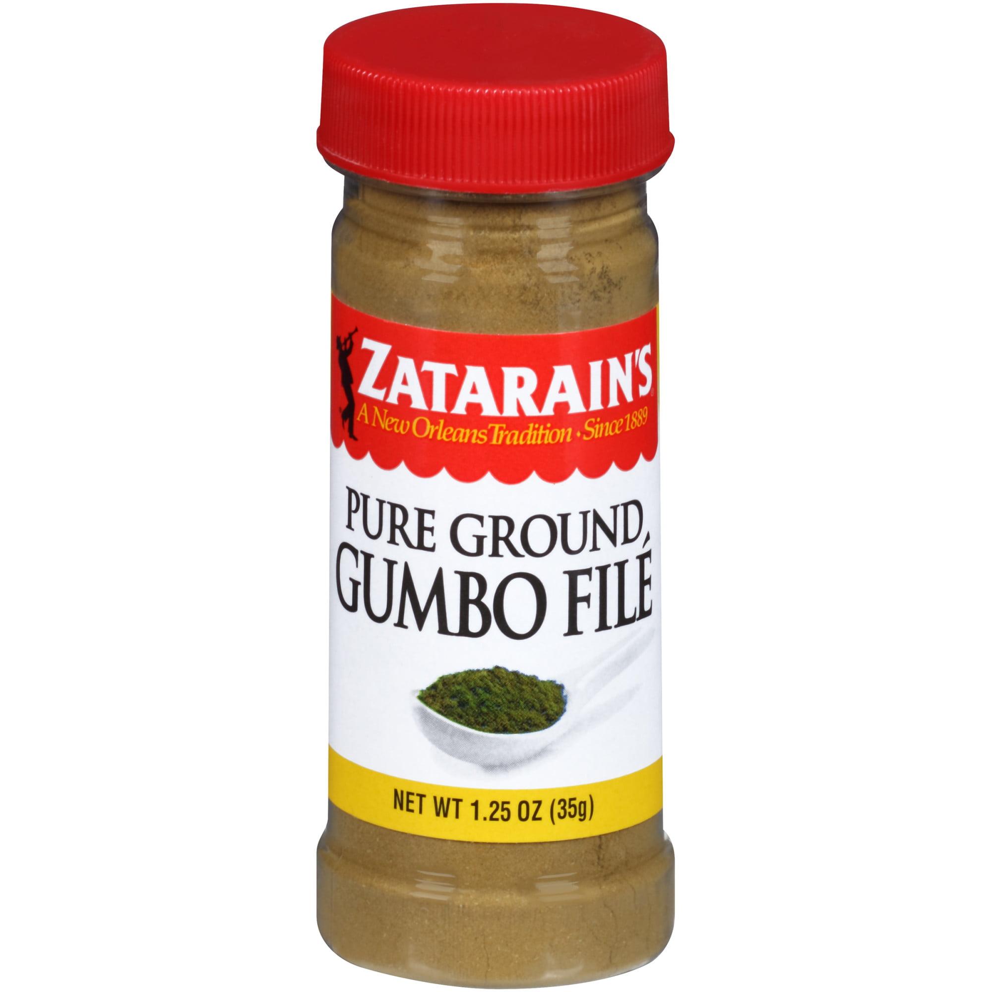 (2 Pack) Zatarain's Gumbo File, 1.25 oz