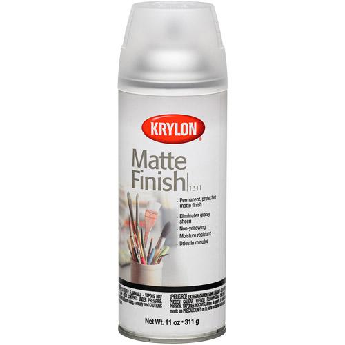 Krylon Matte Finish Clear, 11 oz