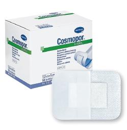 Cosmopor Adhesive Dressing  4 X 4 Inch Nonwoven Square White Sterile 1 Count