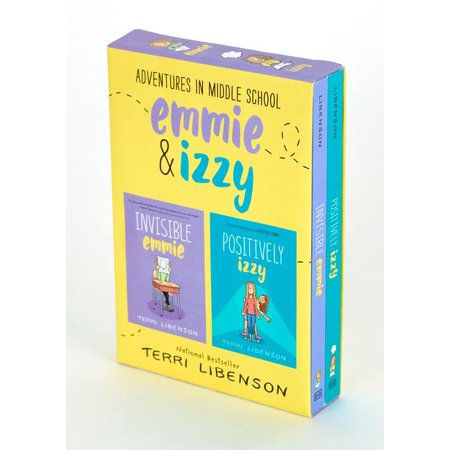 Adventures in Middle School 2-Book Box Set : Invisible Emmie and Positively Izzy