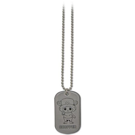 - Necklace - One Piece - New Chopper Dog Tag Toys Gifts Anime Licensed ge8285