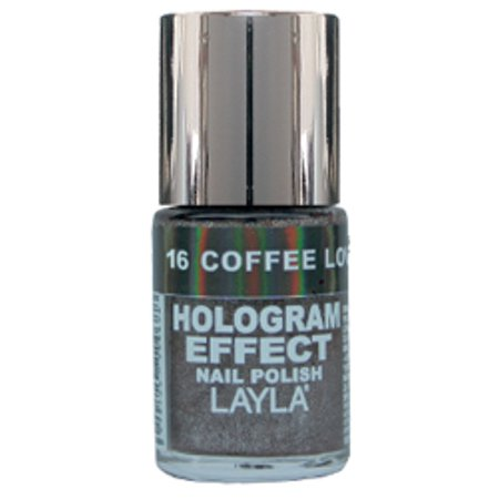 Layla Hologram Effect Nail Polish, #16 Coffee Love - Layla Hologram Effect
