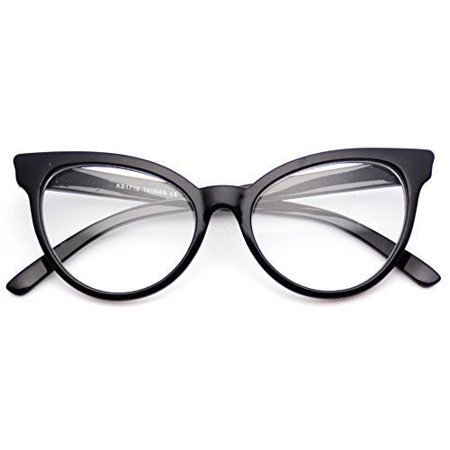 e2b78c4cb93 WearMe Pro - Fashion Cute New Clear Lens Cateye Glasses Gradient Frame -  Walmart.com