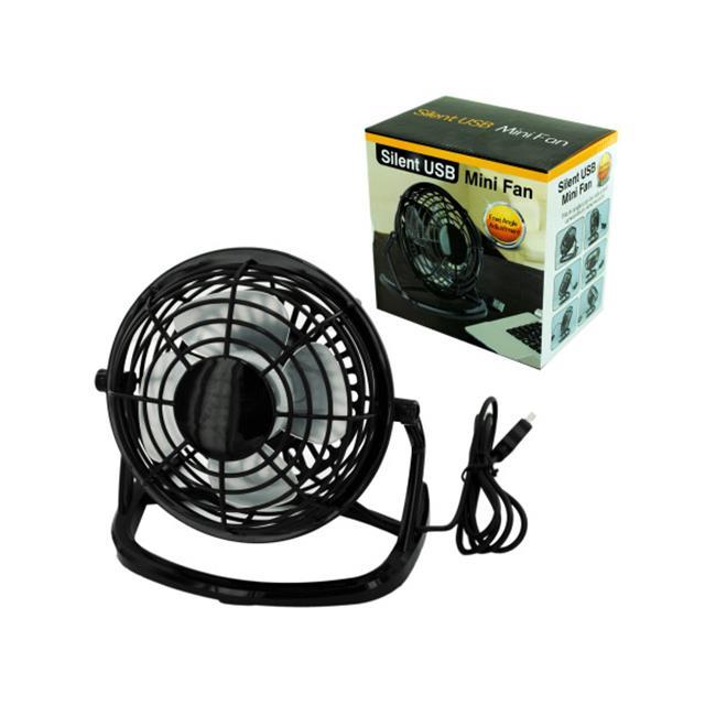 Bulk Buys OB826-16 Silent Usb Mini Fan by Bulk Buys