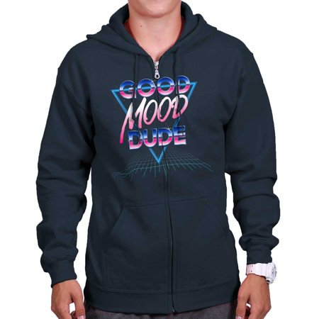 Eighties Clothes Style (Good Mood Dude Cool Chill Eighties Vibes Zip)