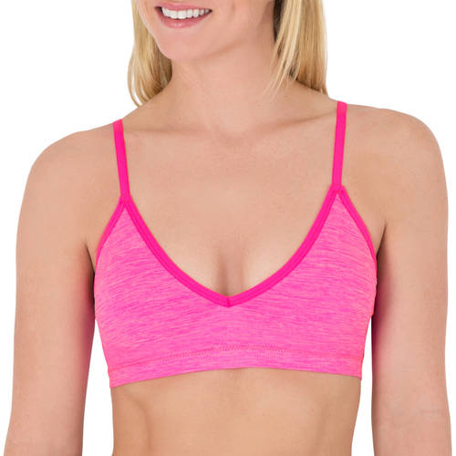 Fruit of the Loom A Fresh Collection Junior's Seamless Lounge Bra, FT514