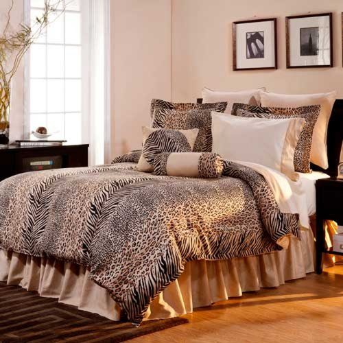 Urban Safari 100% Combed Cotton 300 Thread Count 3 pc Duvet Set