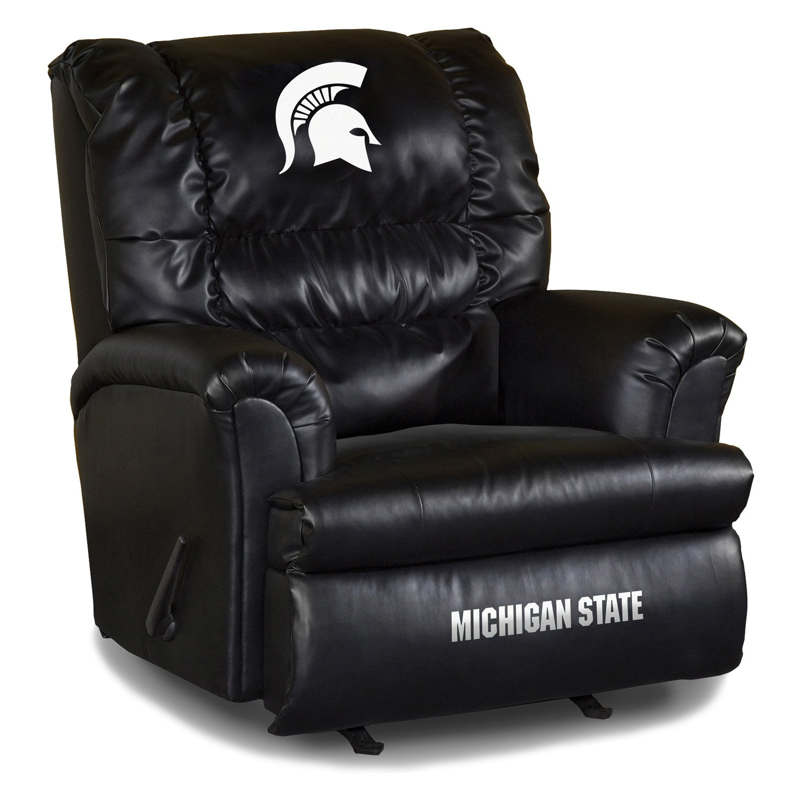 Michigan State Leather Big Daddy Recliner