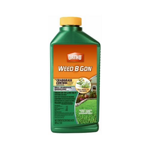 Scotts Ortho Roundup 9994610 Weed-B-Gon Plus Crabgrass Co...