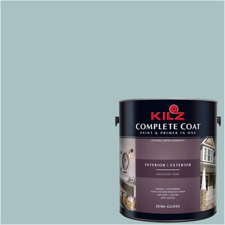 KILZ COMPLETE COAT Interior/Exterior Paint & Primer in One #RF240-02 Bell