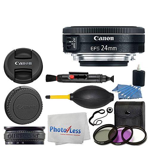 canon ef s 24mm f 2 8 stm lens 3 piece uv filter kit lens band 3 piece cleaning kit lens. Black Bedroom Furniture Sets. Home Design Ideas
