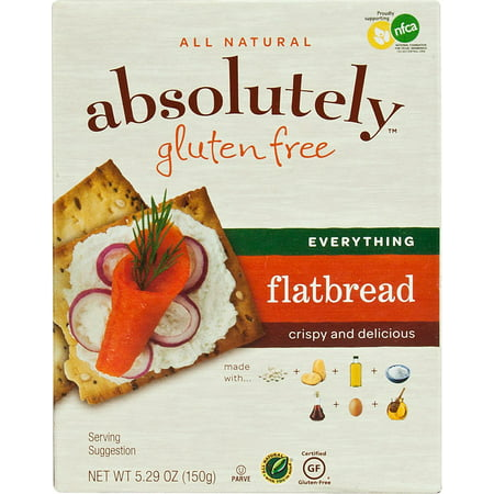 Image of Absolutely Gluten Free Flatbread - Everything, 5.29 Ounce