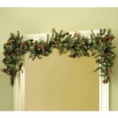 Adjustable Christmas Garland Hanger for Single Door Frames - No mess to Frames (Garland Hanger)
