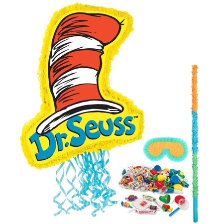 Dr Seuss Cat in the Hat Party Supplies Pinata Kit (Dr Seuss Pinata)