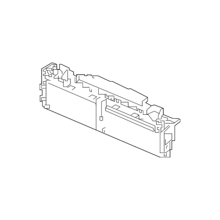 Genuine OE Honda Grille Assembly, Air Shutter (Upper) 71300-TVA-A01